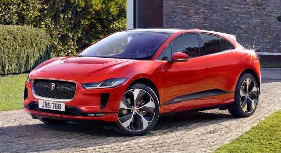 luxury electric cars Jaguar I-Pace