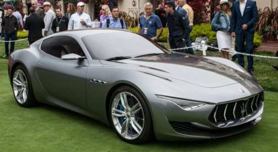 luxury electric cars Maserati Alfieri