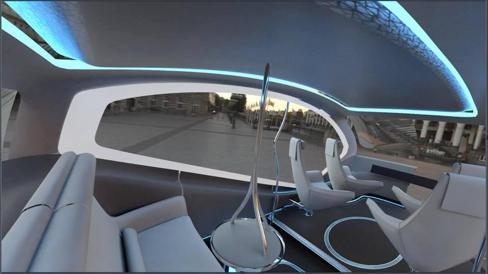Fisker Orbit Interior