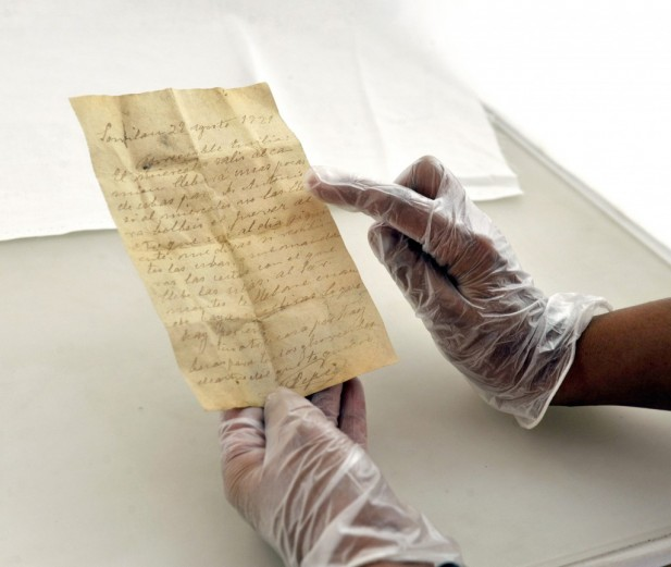 Carta de amor encontrada en la Alhambra