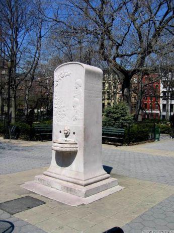 Slocum Memorial Fountain, Tompkins Square Park.