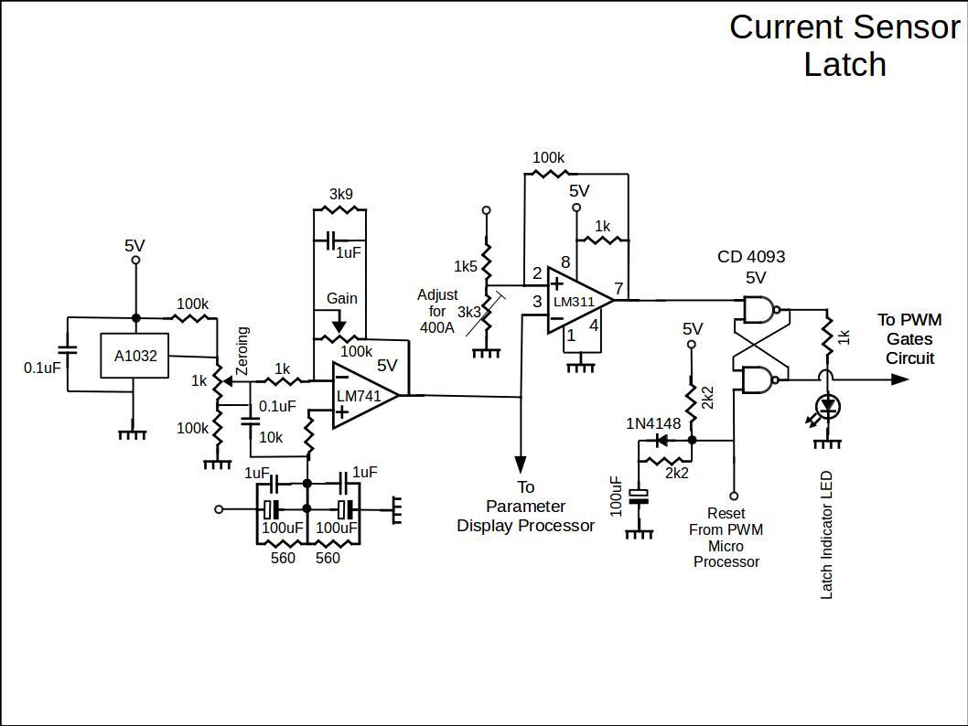 Current Sensor Latch Circuit 1