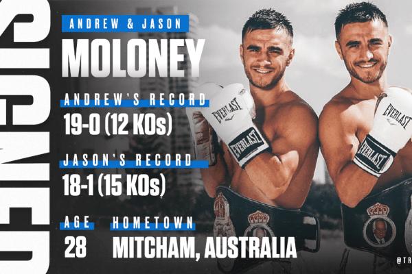 Andrew & Jason Moloney (Top Rank)