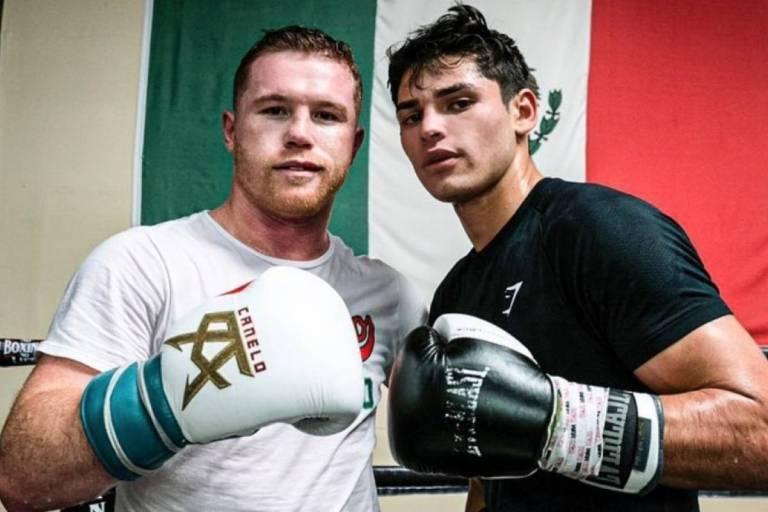 Canelo Álvarez & Ryan García (Foto Cortesía)