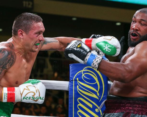 Oleksandr Usyk againts Witherspoon (DAZN)
