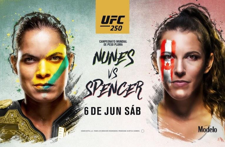AMANDA NUNES VS FELICIA SPENCER: ¡UFC 250 A TODO NIVEL!