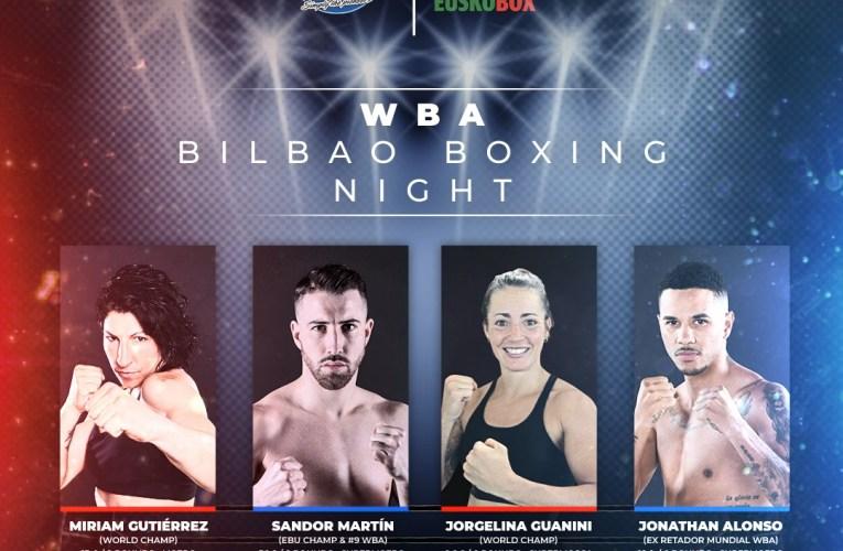 WBA Bilbao Boxing Night tendrá a Miriam Gutiérrez frente a Szilvia Szabados