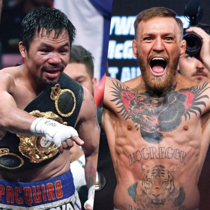 Manny Pacquiao & Conor McGregor (Foto Cortesía)