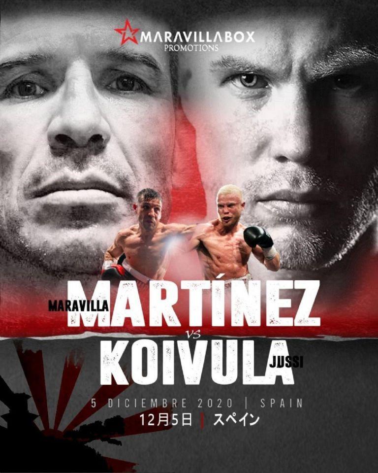 Sergio Martínez & Koivula (Maravilla Promotions)