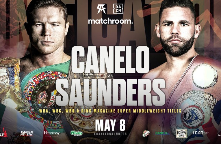 ¡OFICIAL! Canelo Álvarez vs Billy Joe Saunders el 8 de mayo