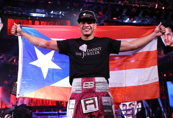 'Tito' Trinidad apuesta a que Edgar Berlanga será campeón mundial