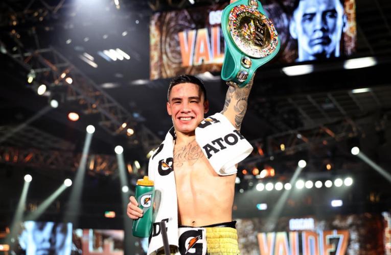 Oscar Valdez busca pasar a la historia luego de su victoria ante Alacrán Berchelt