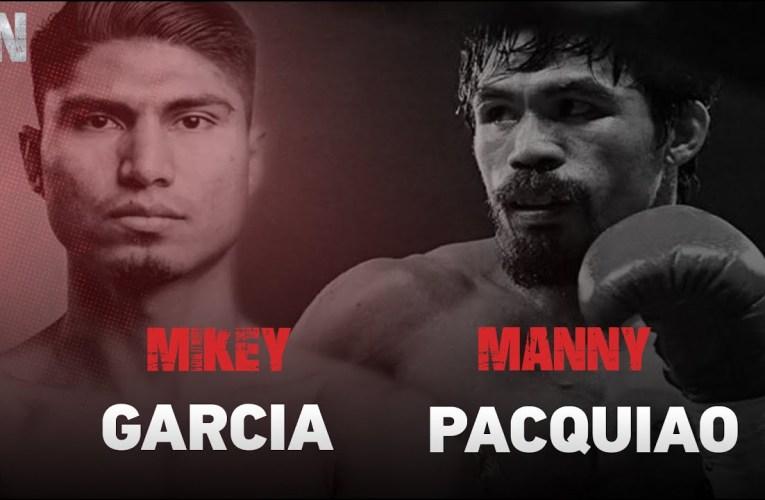 """""""La pelea con Pacquiao es muy buena para mi carrera"""" Mikey García"""