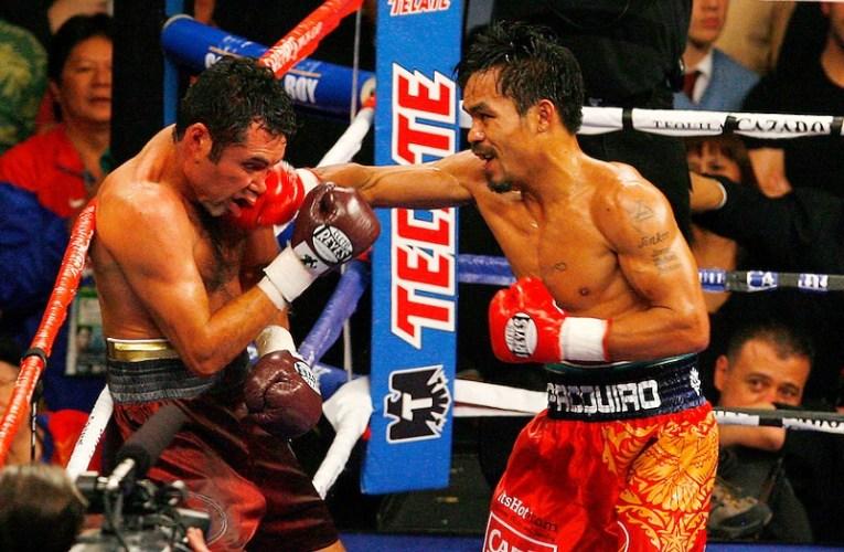 Manny Pacquiao «se burla» del regreso de De La Hoya