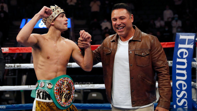 De La Hoya «Todos los campeones quieren pelear con Ryan García»
