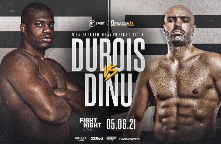 Daniel Dubois vs. Bogdan Dinu este sábado