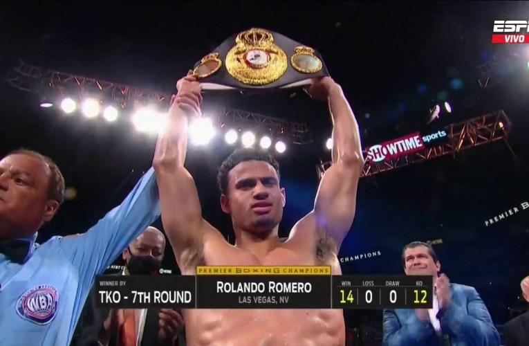 Rolando Romero noqueó a Yigit y el público lo abucheó con todo