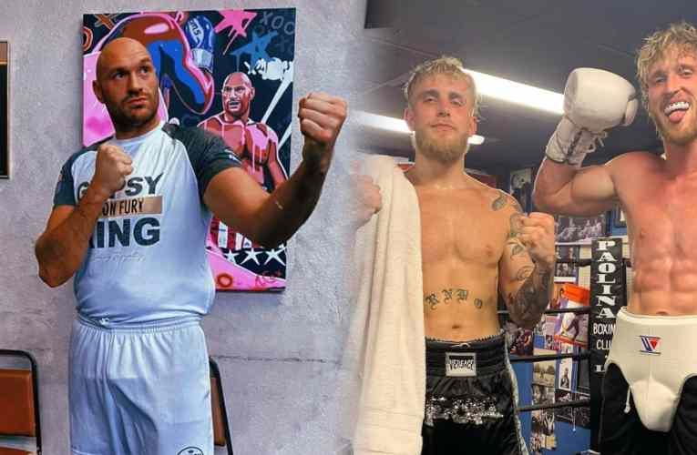 """Tyson Fury """"Jake y Logan Paul hacen bien al boxeo"""""""