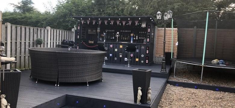 Bahçenize En Uygun Fiyatlarla Palet Bar Yapımı
