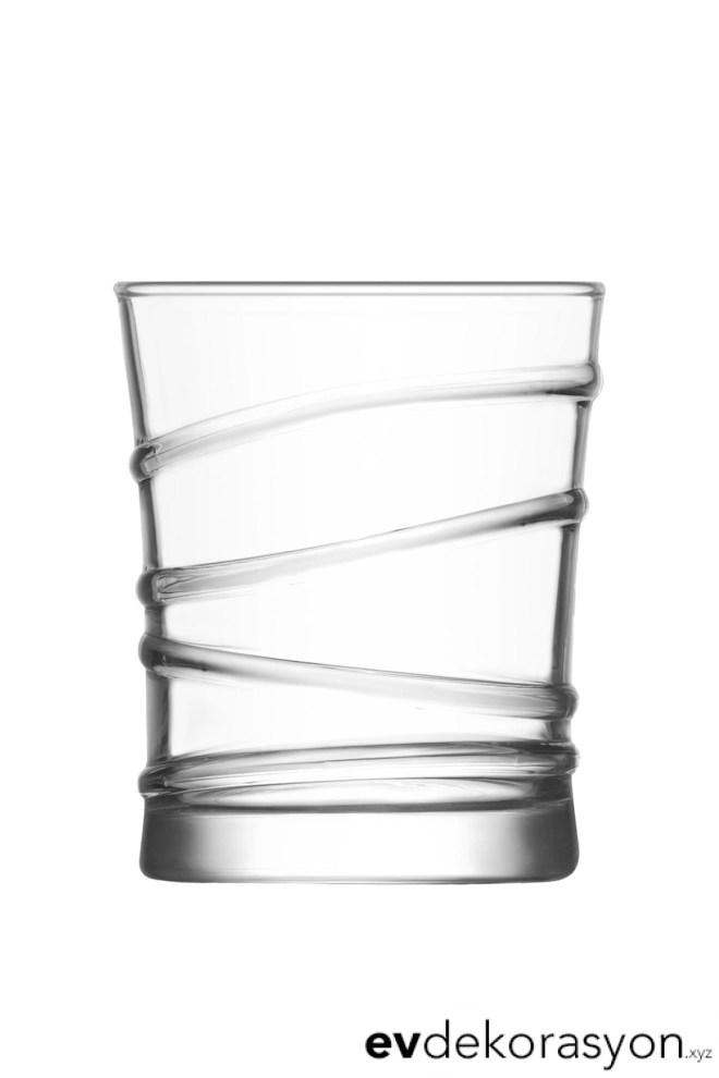 Lav Ring 6'lı Likör Bardağı