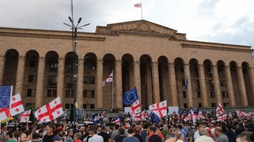 georgia protesto ile ilgili görsel sonucu