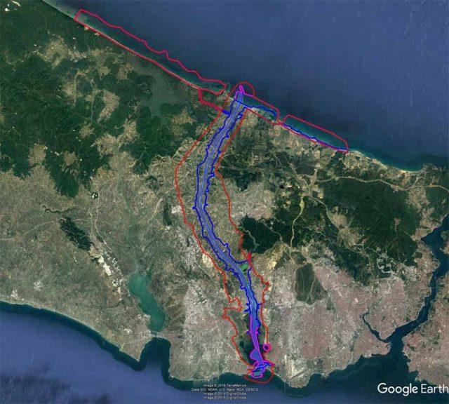 Kanal İstanbul'un kesinleşen güzergahı