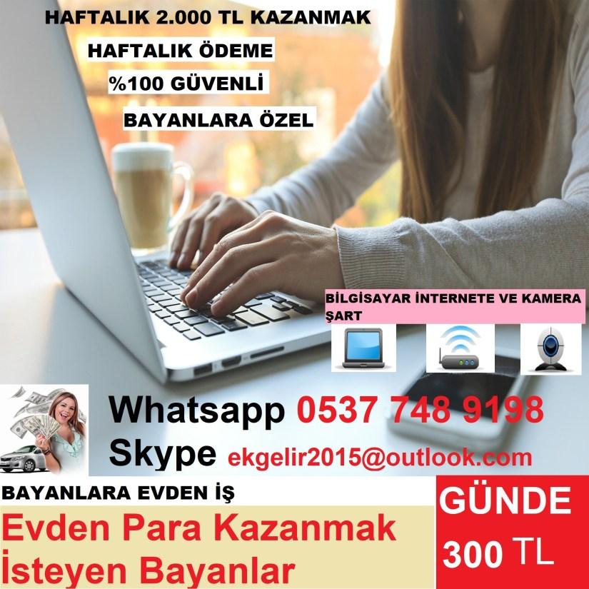 WEBCAM SOHBET YAPACAK MODEL BAYAN ARANIYOR