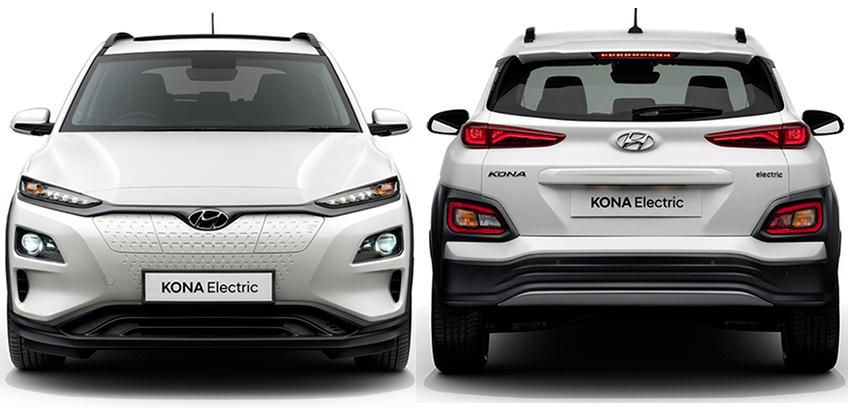 Hyundai Kona Electric in India specifications & Features