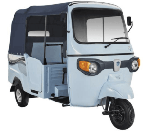 Piaggio Ape e-city rickshaw EV model
