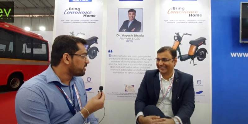 Interview With Dr. Yogesh Bhatia, CEO & Founder of Detel | world's first economical e-bike, EasyPlus