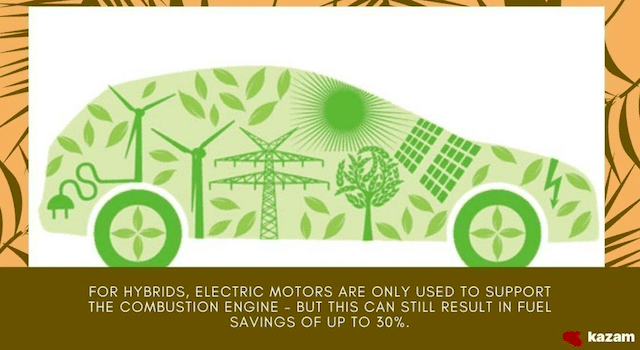 Are hybrid cars greener than electric cars?