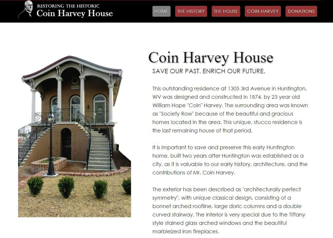 Coin Harvey House