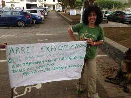 """""""Arrêt' exploite a nous""""..."""