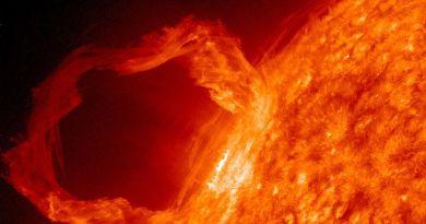 Une Tempête solaire de niveau G1