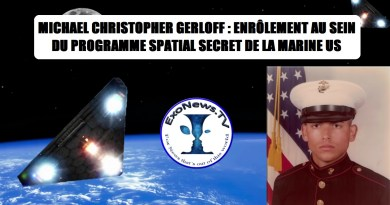 Michael Christopher Gerloff du programme spatial secret parle (source: Dr Michael Salla)