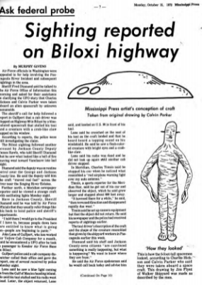 ARTICLE MISSISSIPPI PRESS 16OCT 1973