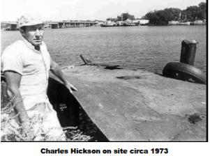 CHARLES HICKSON SUR LE SITE 1973