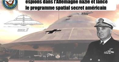L'amiral de la marine qui a supervisé 29 espions dans l'Allemagne nazie et lancé le programme spatial secret américain