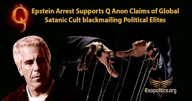 L'arrestation d'Epstein appuie les revendications de Q Anon sur le chantage des élites politiques par les sectes sataniques à l'échelle mondiale