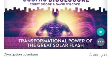 Émission « DIVULGATION COSMIQUE », l'intégrale. Saison 7, épisode 6/32 : LE POUVOIR DE TRANSFORMATION DU GRAND FLASH SOLAIRE