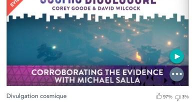 Émission « DIVULGATION COSMIQUE », l'intégrale. Saison 7, épisode 9/32 : CORROBORATION DES PREUVES AVEC MICHAEL SALLA