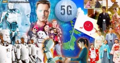 Japon robotisation, dangers IA, 5G, Puce, Déshumanisation contrôle dépendance…