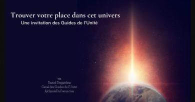 Trouver votre place dans cet univers (Prendre RDV avec les guides de l'UNité le 23 Mai)