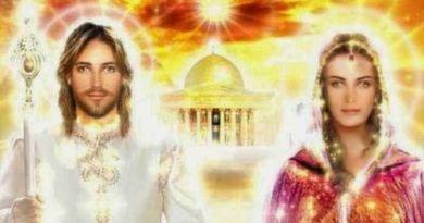 Le Christ et Marie-Madeleine sur la vibration de l'Amour