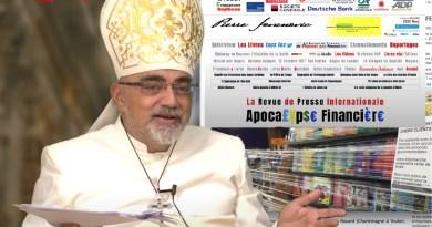 La revue de presse de P. Jovanovic : Scandale au Vatican, les banques dans le rouge