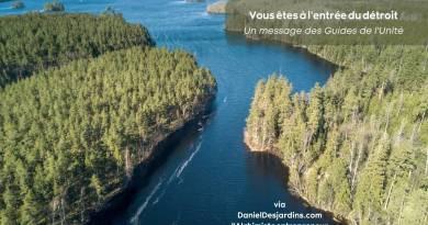 Message des Guides de l'UNité: Vous êtes à l'entrée du détroit