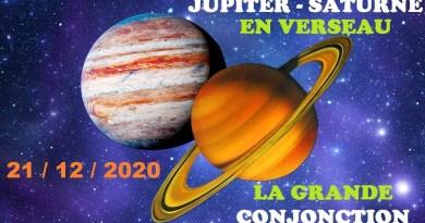 """La grande révélation de la """"micro nova solaire"""" du 21 décembre 2020 : Début de l'ère du Verseau par Jean-Michel Raoux"""