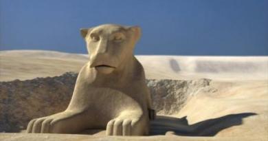 Le Sphinx, l'éternelle énigme : La tête aurait été retaillée, il aurait eu une tête de Lion ou celle d'Anubis