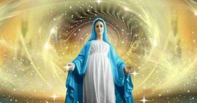 Message de Marie Mère Divine : Vivez et osez bouger, vous rebeller car la vie est le mouvement…