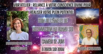 «A la découverte de la multi-dimensionnalité de l'être avec Sandrine Buzin»